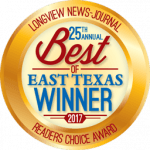 25th Annual Best of Texas Winner 2017 - Longview News-Journal - Features Choice Award