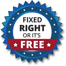 Fixed Right or It's Free!