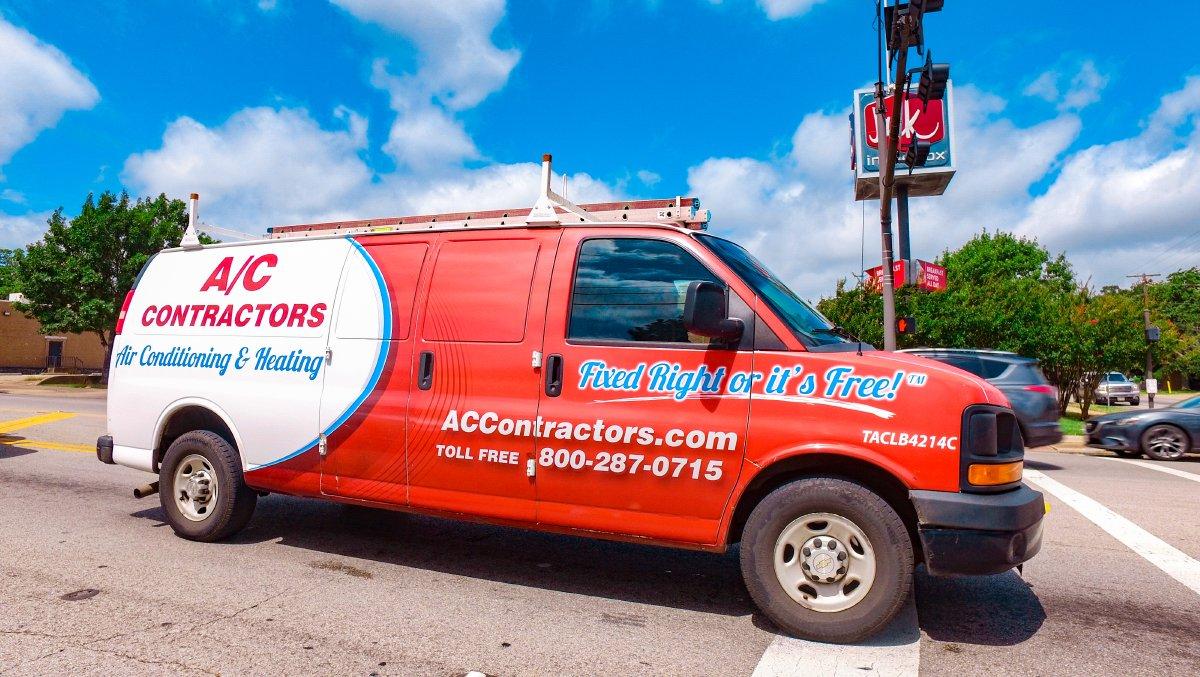 A/C Contractors Truck