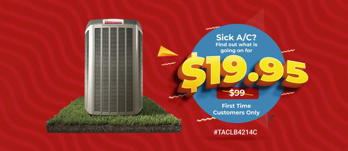 Sick A/C? Find out what is going on for $19.95 (before: $99) - First Time Customers Only